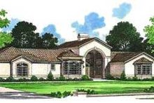 Mediterranean Exterior - Front Elevation Plan #72-143