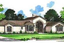 House Blueprint - Mediterranean Exterior - Front Elevation Plan #72-143