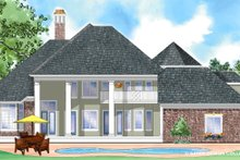 Southern Exterior - Rear Elevation Plan #930-270