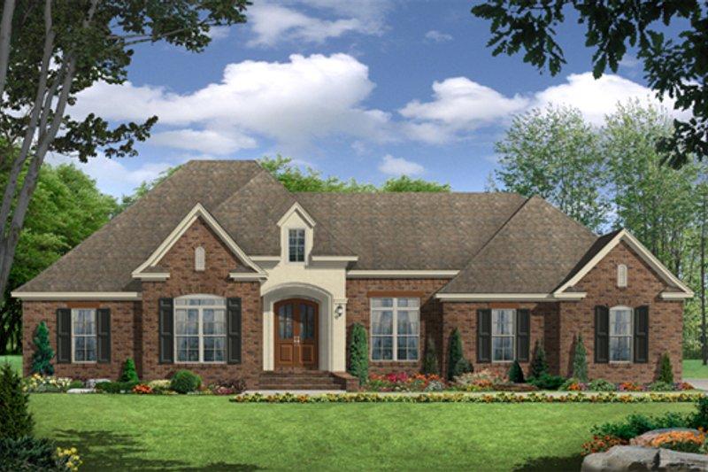 Dream House Plan - European Exterior - Front Elevation Plan #21-336