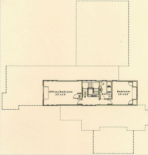 Prairie Floor Plan - Upper Floor Plan #454-5