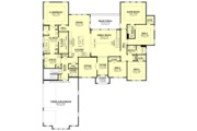 Ranch Style House Plan - 4 Beds 3.5 Baths 3044 Sq/Ft Plan #430-186 Floor Plan - Other Floor Plan