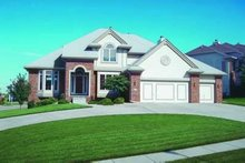 House Plan Design - Traditional Exterior - Front Elevation Plan #20-897