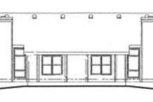 Traditional Exterior - Rear Elevation Plan #20-392