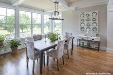 Architectural House Design - Craftsman Interior - Dining Room Plan #929-988