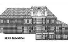Dream House Plan - Traditional Exterior - Rear Elevation Plan #119-234