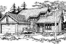 Dream House Plan - Exterior - Other Elevation Plan #320-133