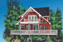 House Design - Cottage Exterior - Front Elevation Plan #118-134