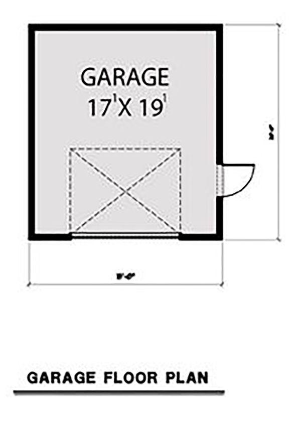 Contemporary Floor Plan - Other Floor Plan Plan #1070-66