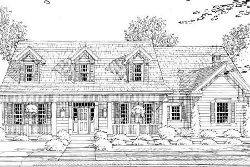 Cottage Exterior - Other Elevation Plan #46-434 - Houseplans.com