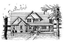 House Plan Design - Country Exterior - Front Elevation Plan #20-1090