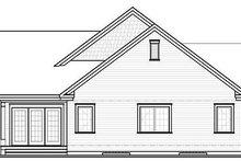 Traditional Exterior - Rear Elevation Plan #23-790