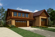 House Plan Design - Country Exterior - Front Elevation Plan #118-139