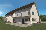Farmhouse Style House Plan - 4 Beds 2.5 Baths 3289 Sq/Ft Plan #1068-2 Exterior - Other Elevation