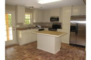 European Style House Plan - 3 Beds 2 Baths 1300 Sq/Ft Plan #430-58 Interior - Kitchen