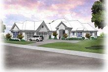 Dream House Plan - European Exterior - Front Elevation Plan #48-475