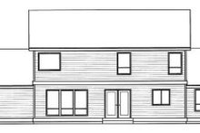 Traditional Exterior - Rear Elevation Plan #94-212