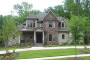 European Style House Plan - 4 Beds 3.5 Baths 2639 Sq/Ft Plan #20-967 Exterior - Front Elevation