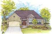 Traditional Style House Plan - 3 Beds 2 Baths 1700 Sq/Ft Plan #435-3