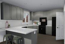 Dream House Plan - Traditional Interior - Kitchen Plan #1060-7