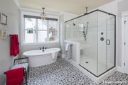 Craftsman Style House Plan - 4 Beds 4 Baths 2966 Sq/Ft Plan #929-988 Interior - Master Bathroom