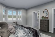 Traditional Style House Plan - 3 Beds 2.5 Baths 1999 Sq/Ft Plan #1060-46 Interior - Master Bedroom