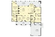 Contemporary Style House Plan - 3 Beds 2 Baths 2250 Sq/Ft Plan #930-500 Floor Plan - Main Floor
