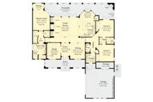 Contemporary Floor Plan - Main Floor Plan Plan #930-500