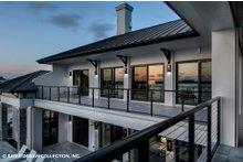 Dream House Plan - Contemporary Exterior - Covered Porch Plan #930-513