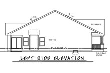 Architectural House Design - Farmhouse Exterior - Other Elevation Plan #20-2446