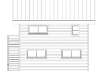 House Plan Design - Modern Exterior - Rear Elevation Plan #932-40