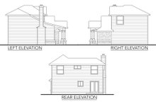 Home Plan - Traditional Exterior - Other Elevation Plan #80-105