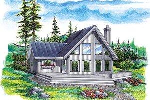 Exterior - Front Elevation Plan #47-323