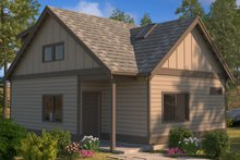 Craftsman Exterior - Front Elevation Plan #895-97