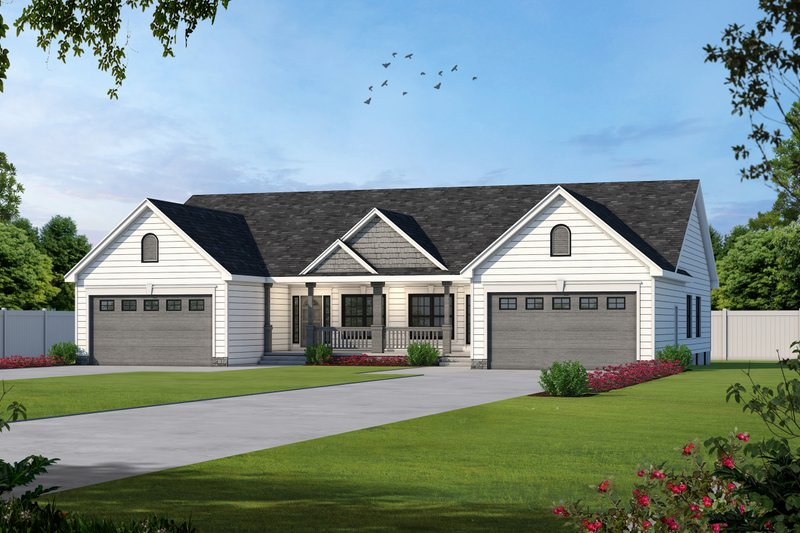 House Plan Design - Traditional Exterior - Front Elevation Plan #20-404