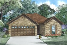 Home Plan - Country Style Home, Front Elevation