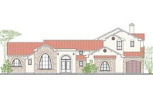 Dream House Plan - Mediterranean Exterior - Front Elevation Plan #80-212