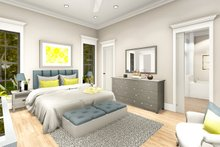 Architectural House Design - Ranch Interior - Master Bedroom Plan #406-9655