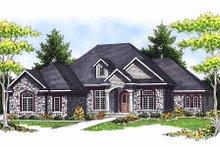 Home Plan - European Exterior - Front Elevation Plan #70-634