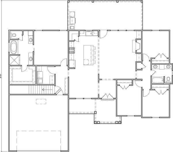 Dream House Plan - Optional Basement