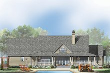 Country Exterior - Rear Elevation Plan #929-535