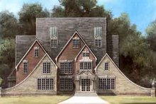 Colonial Exterior - Front Elevation Plan #119-156