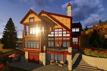Craftsman Exterior - Rear Elevation Plan #70-1433