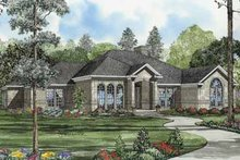House Plan Design - Traditional Exterior - Front Elevation Plan #17-585
