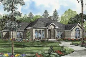 Traditional Exterior - Front Elevation Plan #17-585