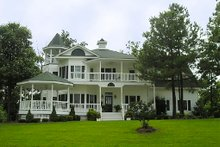 House Plan Design - Victorian Exterior - Front Elevation Plan #137-249