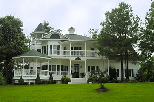 Dream House Plan - Victorian Exterior - Front Elevation Plan #137-249