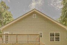 Craftsman Exterior - Rear Elevation Plan #437-99