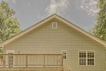 House Plan Design - Craftsman Exterior - Rear Elevation Plan #437-99