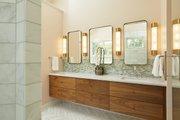 Farmhouse Style House Plan - 5 Beds 3.5 Baths 4478 Sq/Ft Plan #928-308 Interior - Master Bathroom